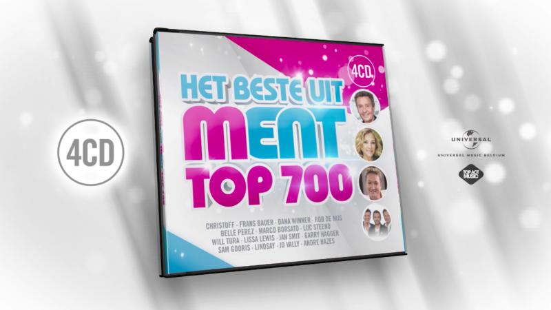 CD Het Beste Uit MENT TOP 700