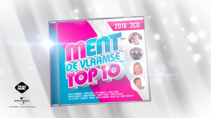 CD MENT De Vlaamse Top 10