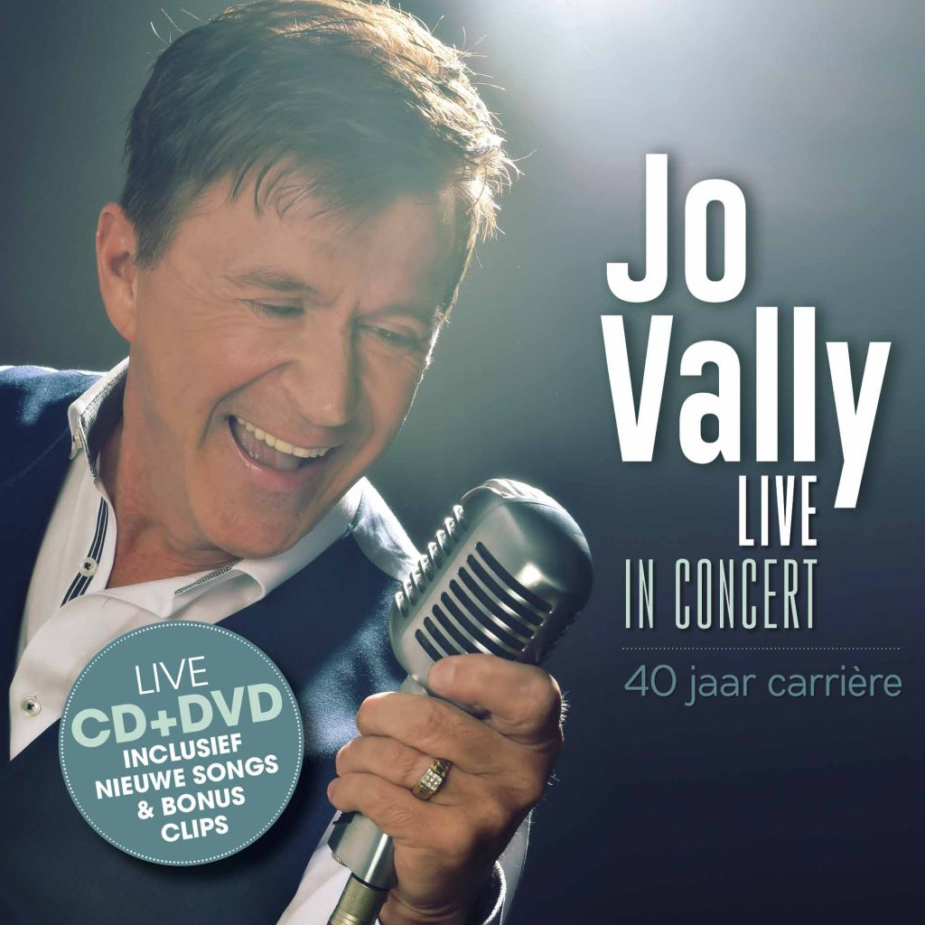 cover - Jo Vally - Live In Concert - 40 jaar carrière