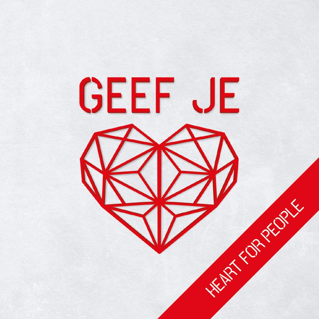 cover - Heart For People - Geef Je Hart