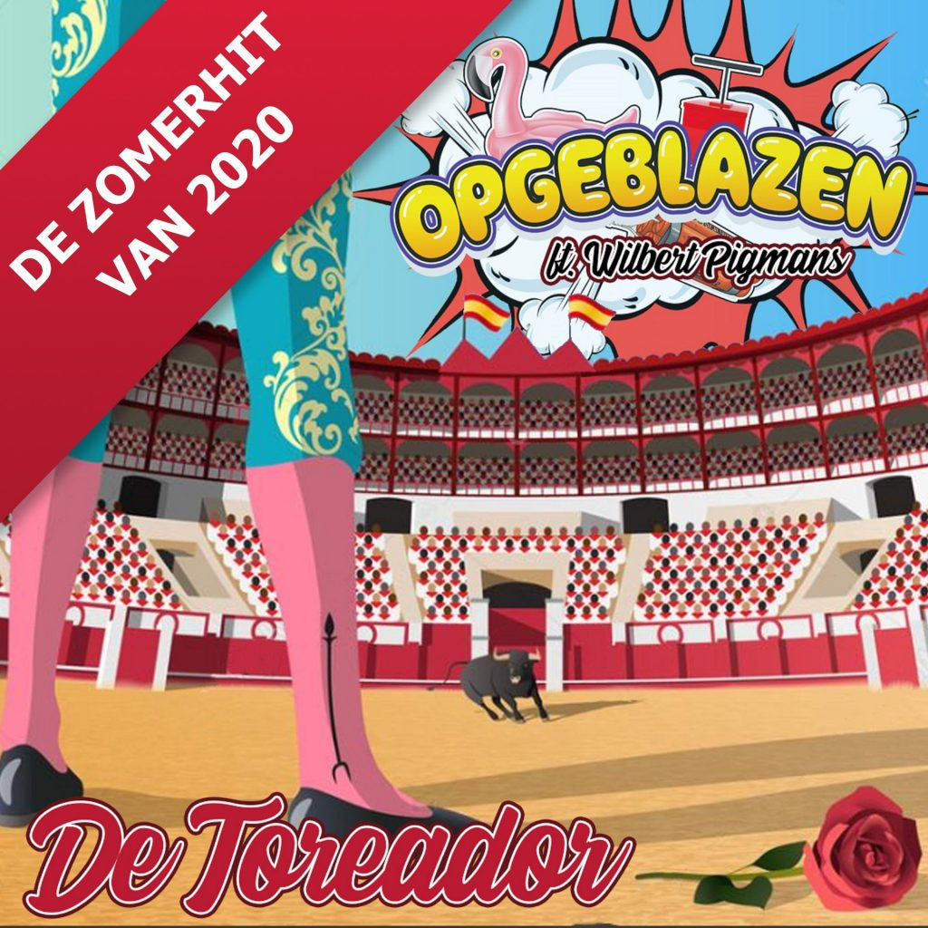 cover - Opgeblazen ft Wilbert Pigmans - De Toreador