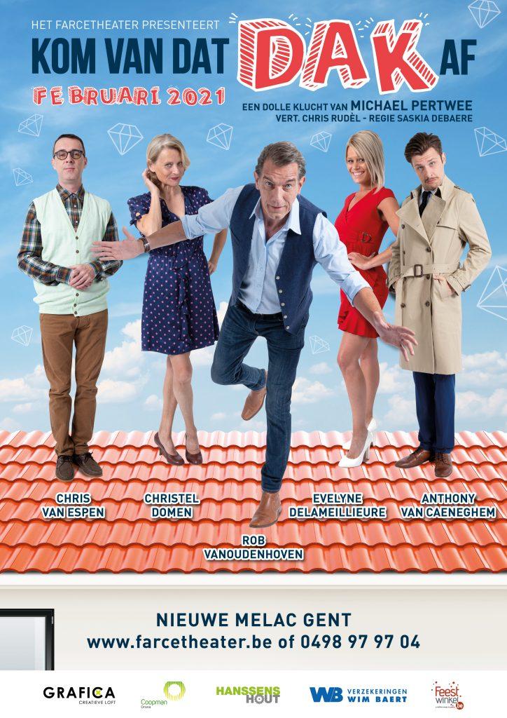 Farcetheater - Kom Van Dat Dak Af - februari 2021