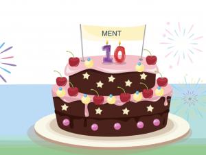 MENT 10 jaar